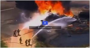 OK Oil Rig Fire
